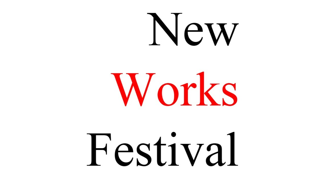 New Works Festival logo April 5 2019